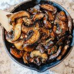 Honey Balsamic Mushroom