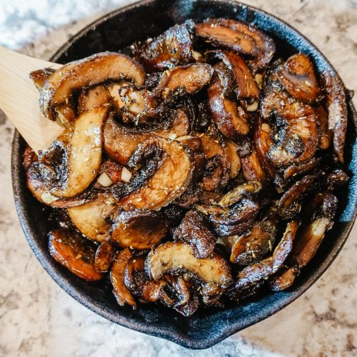 Honey Balsamic Mushroom